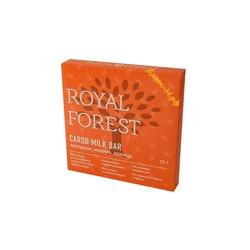 """Шоколад """"Кэроб, апельсин, имбирь и корица"""" """"Royal Forest"""" 75г"""
