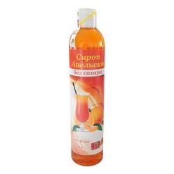 """Сироп ( Апельсин ) Без Сахара """"Продуктовая Аптека"""" 360мл"""