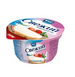 """Сыр Творожный """"Свежий"""" 6,0% """"Kuc"""" 200г"""