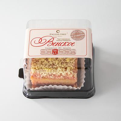 """Торт-пирожное ( Венское ) """"Excess Free"""" 90г"""