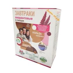 "Завтраки амарантовые в глазури со стевией ""Di&Di"" 250г"